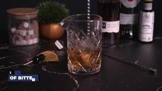 Making a Manhattan with Blue Note Bourbon