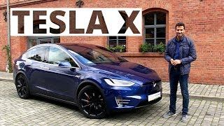 Tesla X P90D 90 kWh 463 KM, 2017 - test AutoCentrum.pl #351