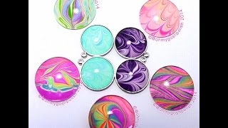 MAKE YOU OWN WATERMARBLE JEWELLERY - GREAT CHRISTMAS GIFT IDEA