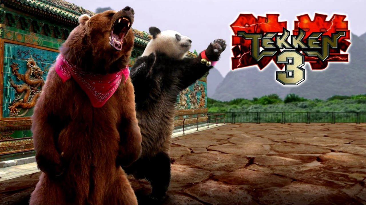 Tekken 3 Kuma Panda Theme Youtube