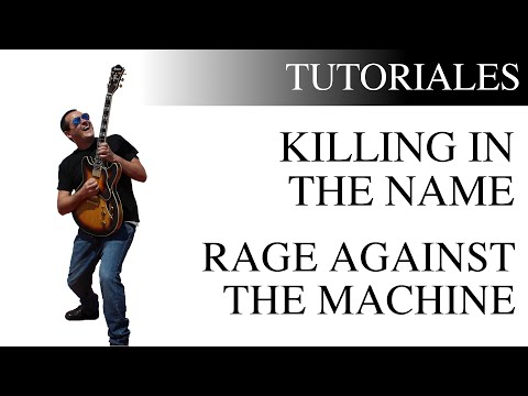 Cómo tocar Killing In The Name de Rage Against The Machine