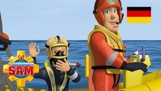 Feuerwehrmann Sam Deutsch Neue Folgen | Ein Ausflug ins Wasser 🌊Beste Seenotrettungen 🚒 Kinderfilm