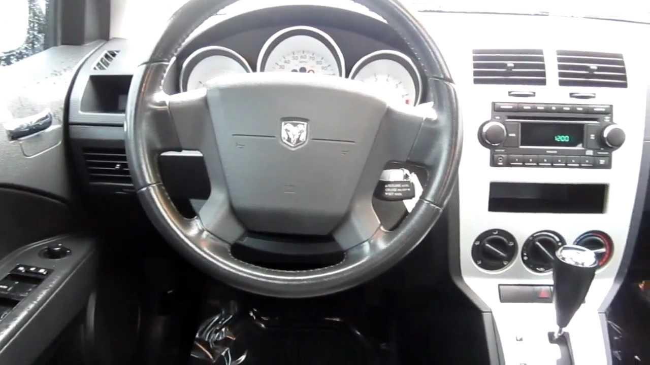 2008 Dodge Caliber Interior 08 Fuse Box Sxt Gray Stock 6065911 Youtube Rh Com Accessories