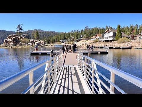 BIG BEAR LAKE, CALIFORNIA.