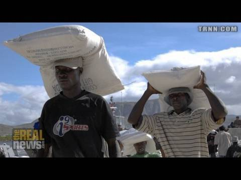 US military enforces attacks on Haitian unions Pt2