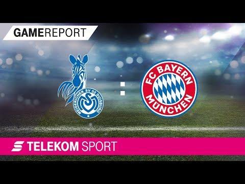 MSV Duisburg - FC Bayern München | 18. Spieltag, Saison 17/18 | Telekom Sport
