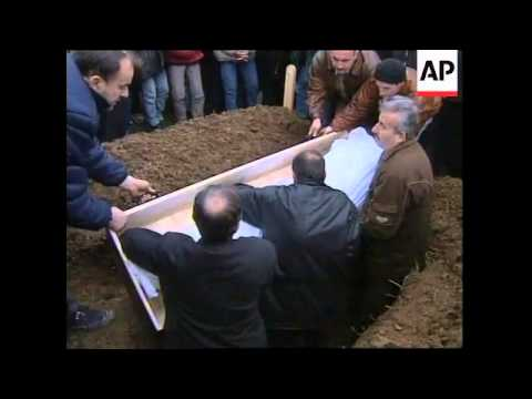 KOSOVO: FUNERAL OF 15 YEAR OLD ETHNIC ALBANIAN