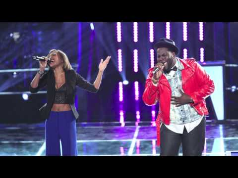 Vision of Love  Trevin Hunte & Amanda Brown The Voice Duet Studio Version