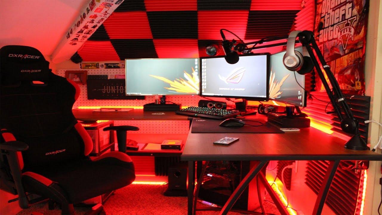 Best Gaming Setup 2019   Vortex Gaming - YouTube