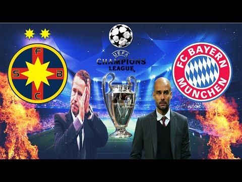 FIFA ROMANIA Liga 1 F.C. Steaua Bucuresti - Finala Uefa Champions League Cu Bayern München