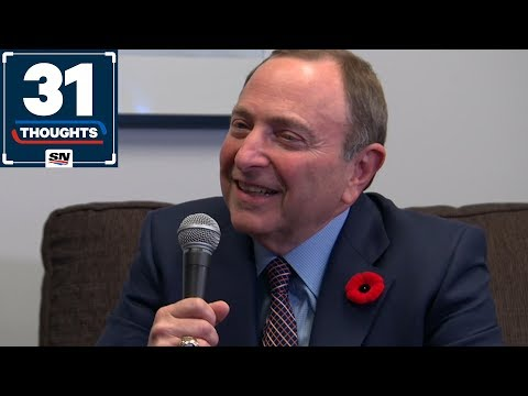 Gary Bettman on Playoff Expansion Rumours, Growing The Game and His HOF Induction   31 Thoughts