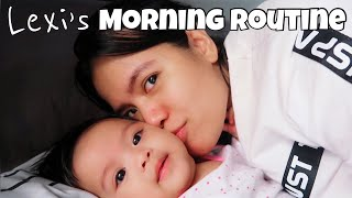 MOMMY AND BABY WEEKEND MORNING ROUTINE | DJ CHACHA