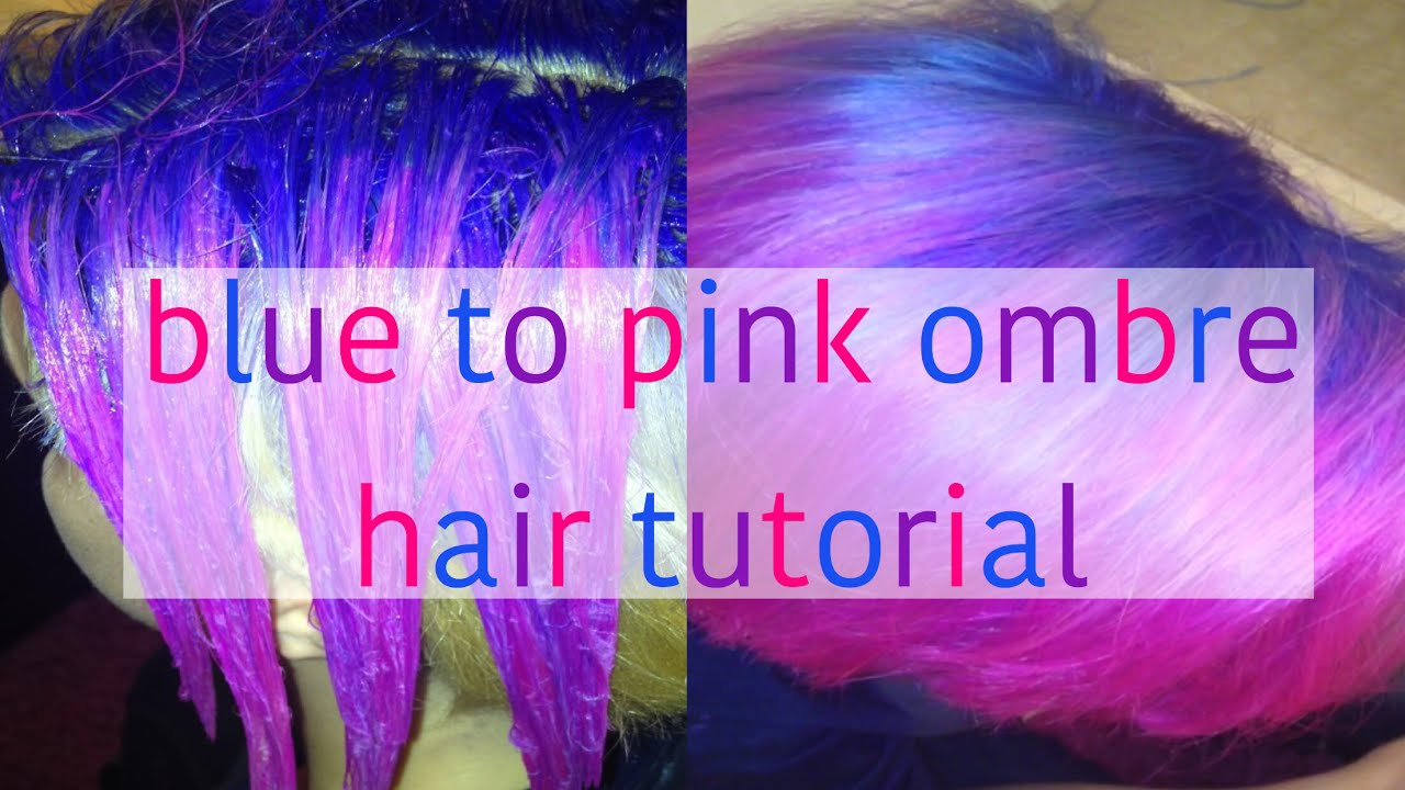 Purple Ombre Hair Color Ideas With Pink New Choice To Dye