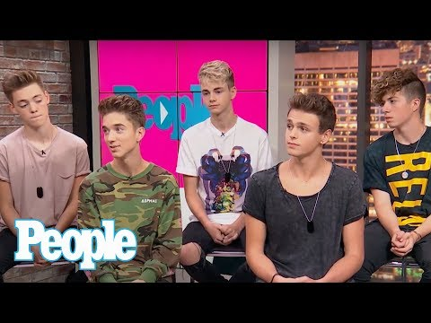 Why Dont We: Working With Logan Paul Serenading Selena Gomez Looking Up To Bieber & More  People
