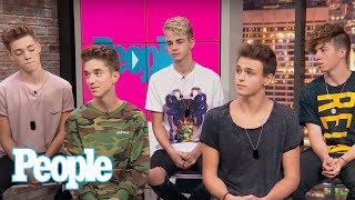 Why Don't We: Working With Logan Paul, Serenading Selena Gomez, Looking Up To Bieber & More | People
