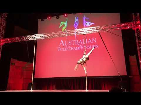 Nicole - Australian Pole Championships 2017 amateur division