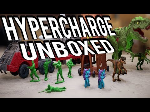 TOY STORY RTS/First Person Strategy game- HYPERCHARGE UNBOXED GAMEPLAY