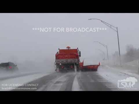 11-25-18 Iowa City, IA - Blizzard conditions