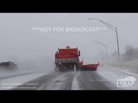 11-25-18 Iowa City, IA - Blizzard conditions