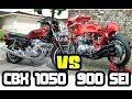 DUELO DE 6 CILINDROS - CBX 1050 VS BENELLI 900 SEI