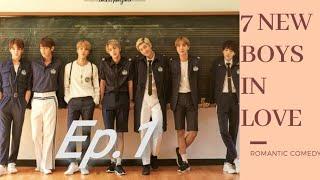 (Bts ff) ~7 new boys inlove~ep, 1