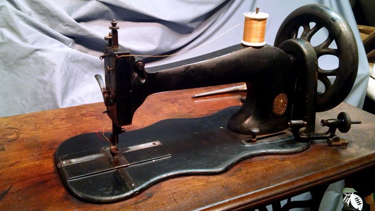 Rare Serviced Antique 1872 Singer Model 13 Treadle Sewing Machine in Cabinet  920798 - Rare Serviced Antique 1872 Singer Model 13 Treadle Sewing Machine In