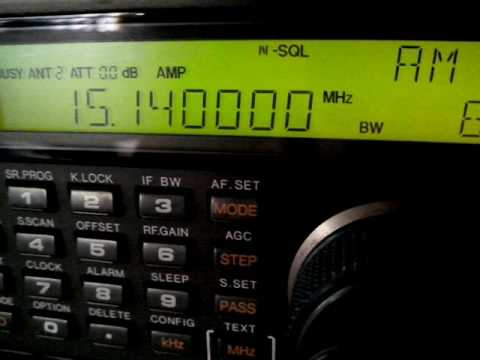 Radio Sultanate of Oman (Public Authority for Radio and TV) 15140 KHz