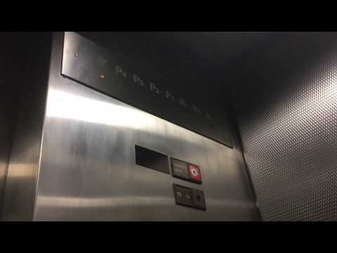 Awesome Mitsubishi elevators - Museum of Contemporary Art - One America Plaza - San Diego