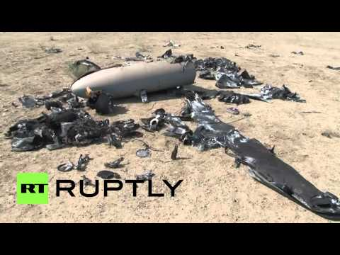 Iran: See The 'Israeli Drone' Shot Down Near Nuclear Site
