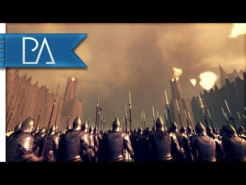 BATTLE OF THE BLACK GATE: NEW CUSTOM MAP - Total War: Rise Of Mordor Mod Gameplay