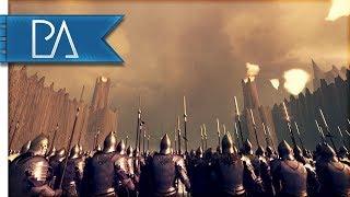 BATTLE OF THE BLACK GATE: NEW CUSTOM MAP - Total War: Rise Of Mordor Mod Gameplay