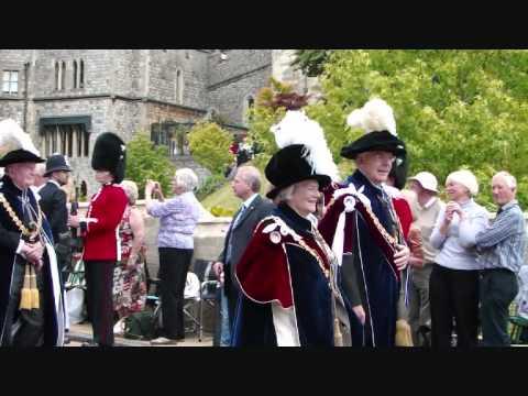 Order of the Garter Windsor Castle 2011