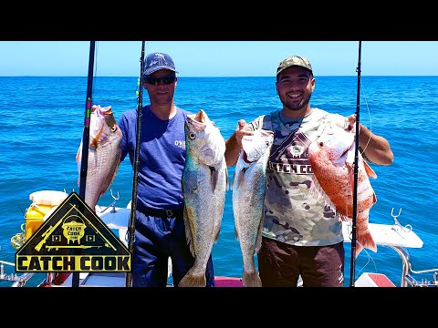 Deep Sea Fishing With Red Stumpnose Stir Fry | Catch Cook | South Africa Mp4
