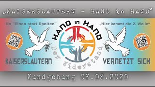 HAND IN HAND - Kaiserslautern / 08.08.2020 R. #1 (part 2/2)