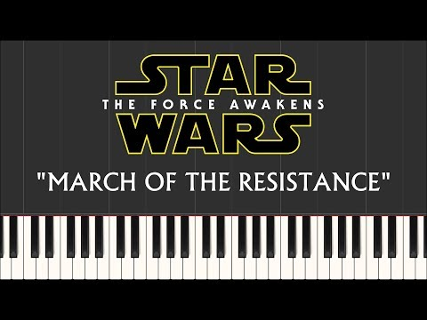 Star Wars - March of the Resistance (Piano Tutorial) - FREE Sheet Music