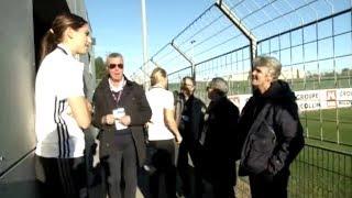D1 Feminine - DDD EXCLUSIVE: Alex Morgan & Pia Sundhage Reunite in Montpellier (Road Trip) - 2-25-17