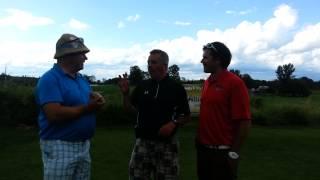 Executive Golf 2013 Ottawa Sun Scramble - Absolute Comedy Divison C - Round 1 Interview