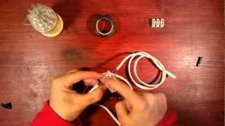 Empalmar cables - Unir cables a mano