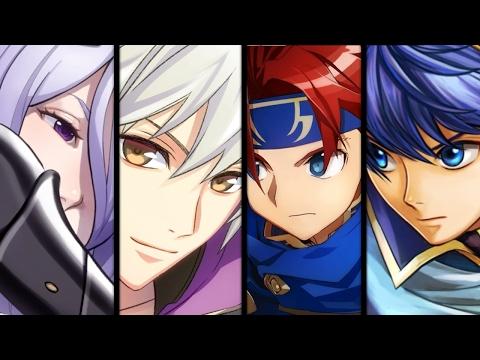Fire Emblem Heroes - All Focus Character Summon Cutscenes (60FPS)
