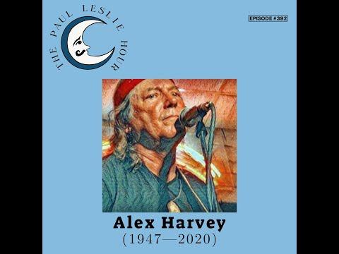 Alex Harvey Interview on The Paul Leslie Hour