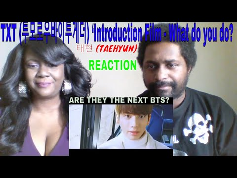 TXT (투모로우바이투게더) 'Introduction Film - What do you do?' - 태현 (TAEHYUN) REACTION