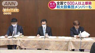 神奈川でも最多の64人の感染 全国で500人以上確認(20/04/09)