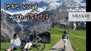 [스위스Vlog]승무원 친구의 추천&원픽 스위스…