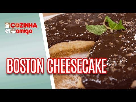 Boston Cheesecake  - Raquel Novais | Cozinha Amiga (07/05/18)