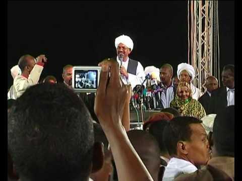 MaximsNewsNetwork: SUDAN ELECTIONS: YASIR ARMAN & OMAR AL-BASHIR (UNMIS)