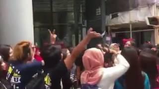 Video pelampiasan kekecewaan vyanisty hongkong kepada Via Vallen