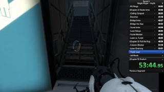 Portal 2 Speedrunning