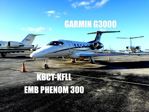 Short IFR Flight in a Phenom 300! FlightVLOG Fort Lauderdale Intl