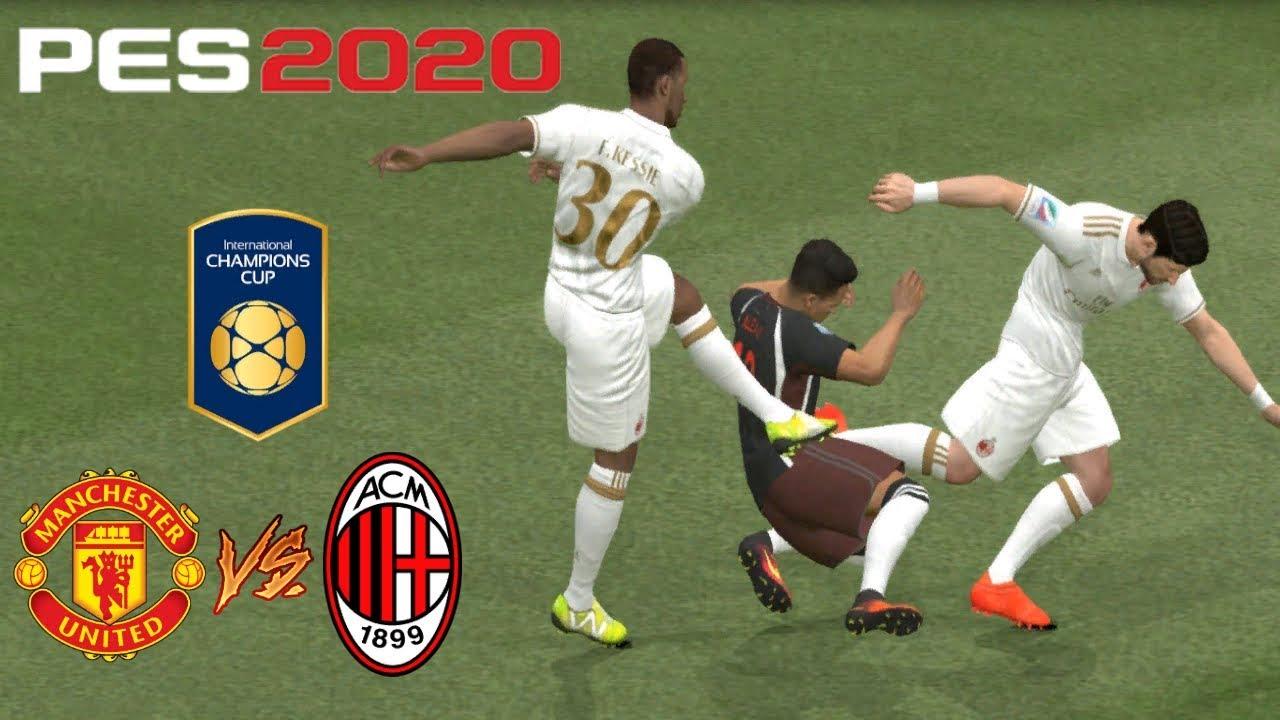 Manchester United International Champions Cup 2020.Manchester United Vs Milan Uluslararasi Sampiyonlar Kupasi