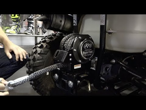 KFI TIGERTAIL TOW SYSTEM for ATV's!